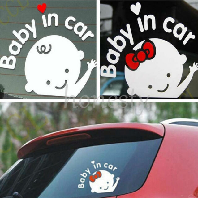 Baby On Board Sticker Car Window Wall Bumper Laptop Vinyl Decal Decor Gift