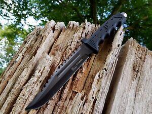 Jagdmesser-Messer-Knife-Bowie-Buschmesser-Coltello-Cuchillo-Couteau-Hunting-Neu