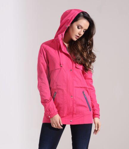 Mac Manteau Cerise pour femme anthracite de Festival pluie pour Rain Pink ppqR4Zw