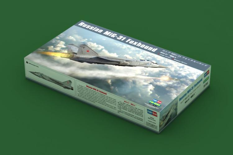 Hobbyboss 1 48 81753 Russian MiG-31 Foxhound
