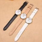 Watches Women Top Fashion Letter Casual Leather Watch Analog Quartz Wrist Watch