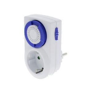 Analoge-Tages-Zeitschaltuhr-mechanisch-002-Kinderschutz-230V-16A-Time-switch