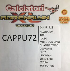 TOP-PLUS-ALLENATORI-SPECIAL-CARDS-ADRENALYN-XL-2019-20-CALCIATORI-PANINI