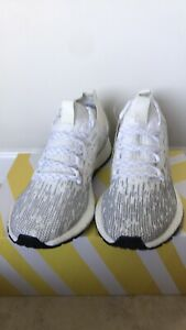 Adidas Men Pure Boost RBL Shoes Raw WhiteGrey F35784