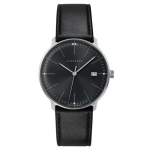 NEW-Junghans-Max-Bill-Men-039-s-Quartz-Watch-041-4465-04
