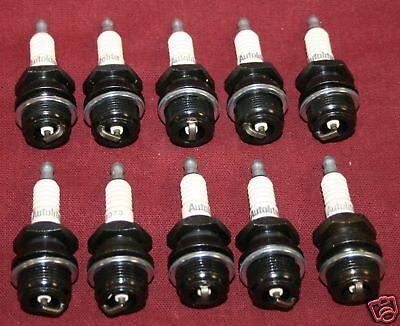 10 NEW Autolite Spark Plug 3076 Fairbanks Hit Miss Gas Engine Motor LA LB