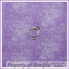 BonEful Fabric FQ Cotton Quilt VTG Light Purple Girl Solid Tone Texture Blender