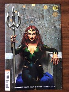 Aquaman #39 (vol. 8) JOSHUA MIDDLETON VARIANT DC NM BEAUTIFUL MERA MOVIE HOT!!!