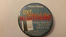 MATCHBOX TWENTY MAD SEASON 2000 CD AD RELEASE WALMART WAL-MART EMPLOYEE BUTTON
