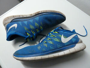 Details zu Nike Free Run 5.0 Gr. 45 US 11 29 cm Nike # 642198 401 Military blue