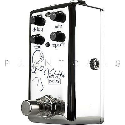Red Witch Seven Sisters Violetta Delay/Echo/Modulation guitar Effects Pedal NEW
