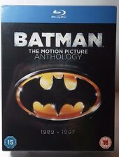 Batman: The Motion Picture Anthology 1989-1997 [Blu-ray][Region Free]NEW-FreeS&H