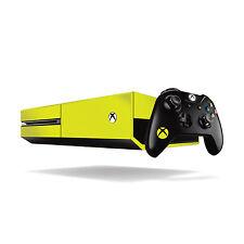 Xbox One Fluorescente Vinilo Wrap: Amarillo Brillante / Xbox One Skin Adhesivo Cover...