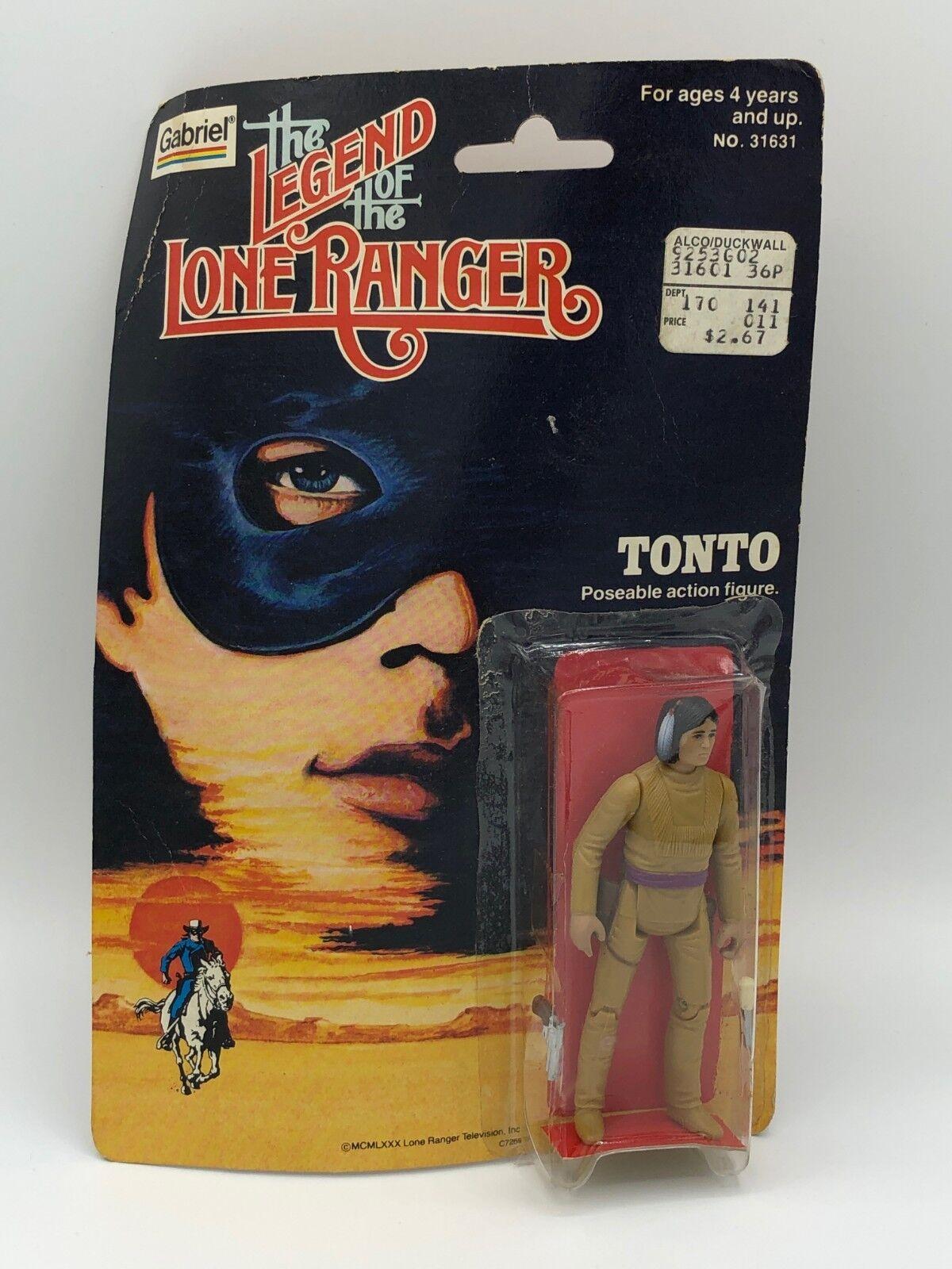 1980 gabriel die legende der lone ranger tonto actionfigur neu auf der karte)