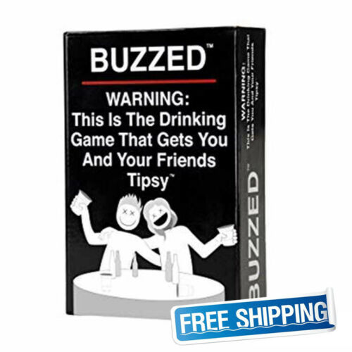 Buzzed This Is The Drinking Game That Gets You and Your Friends Wasted 2019 New