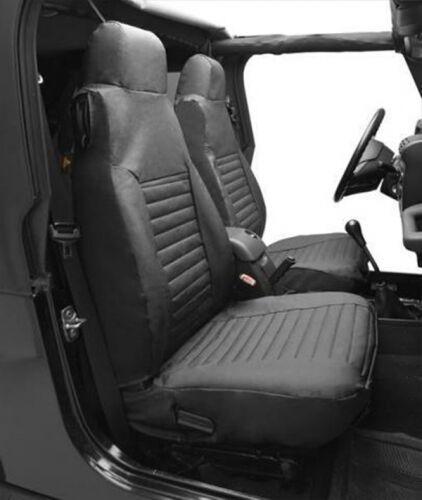 Jeep Wrangler Tj Kit Housse de Siège Avant Noir Toile Jean Bestop 96-02