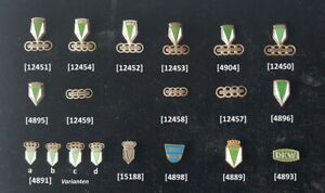 AUTOUNION-DKW-original-Anstecknadel-n-stick-pin-badge-s-1930er-bis-1960er-Jahre