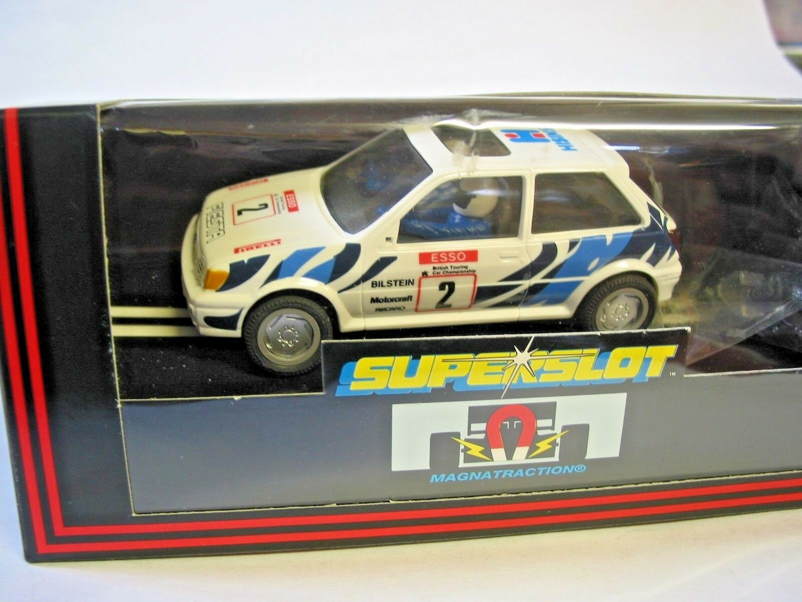 Scalextric Collectors C314 FIESTA XR2i hisina 370 500 Comme neuf boxed Crisp Box