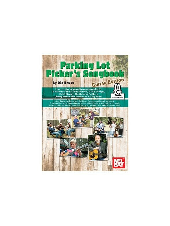 Parking Lot Picker's Songbook Guitar Edition Traditional Guitar SHEET MUSIC BOOK