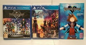 Lot-Kingdom-Heart-HD-1-5-2-5-Kingdom-Heart-3-PS4-PAL-francais-Neuf-Manga