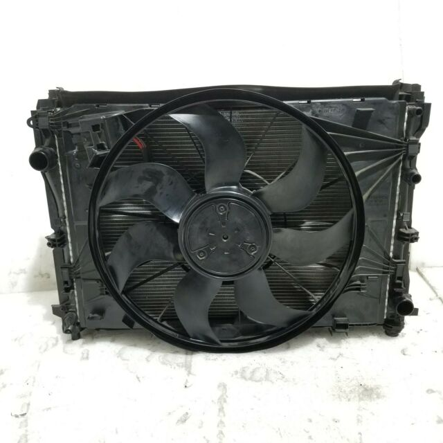 2018 MERCEDES C43 AMG 3.0 ENGINE COOLING AUX RADIATOR FAN