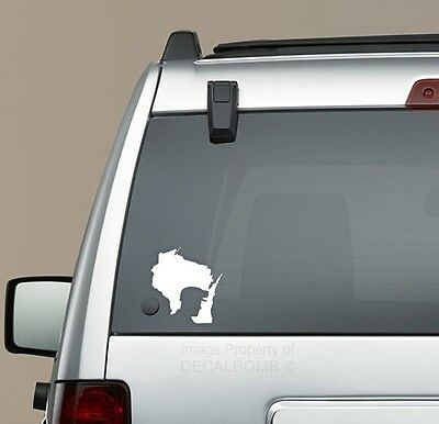 PENNSYLVANIA Coal Miner Window Decal Bumper Sticker