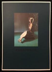Bernhard-Prinz-Paradoxon-Offsetprint-1988-handsigniert-und-datiert