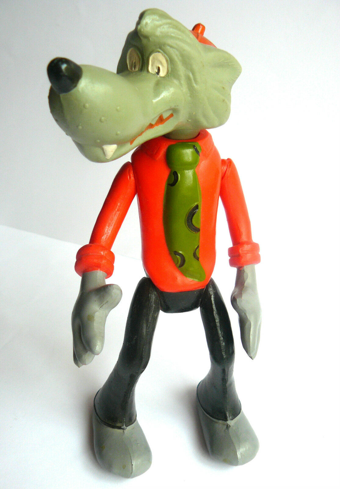 1970s USSR Russian Soviet Character Character Character  Nu, Pogodi  CELLULOID Toy Doll WOLF 4fbc97
