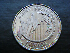 Canada Quater 25 Cents December 1999 Coin