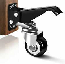 Workbench Casters Heavy Duty Retractable Casters Kit Capacity 800lbs Set