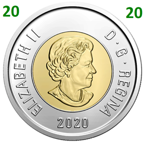 2020-New-Canada-Toonie-2-Dollars-BU-Coin-Polar-Bear-Bi-Metallic-UNC-2020
