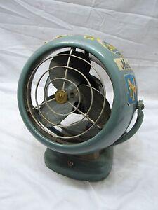 Image Is Loading Vintage Vornado 6 034 Art Deco Mid Century