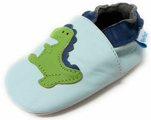 0-6 Months to 3-4 Years MINIFEET SOFT LEATHER BABY SHOES TODDLER SHOES