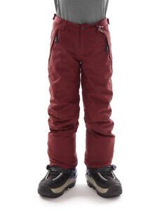 O-Neill-Pantaloni-da-sci-e-da-snowboard-Anvil-ROSSO-Catarifrangente