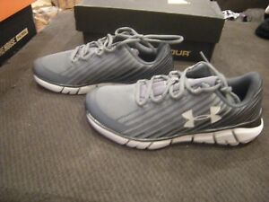 1099bba3ee Details about New Boys Gray & Black Under Armour XLevel Scramjet Remix  Tennis Shoes, Size 2