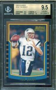Tom-Brady-Rookie-Card-2000-Bowman-236-BGS-9-5-9-5-9-9-5-10