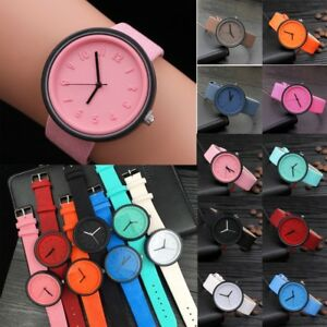 Women-Men-Simple-Fashion-Arabic-Number-Watches-Quartz-Canvas-Belt-Wrist-Watch