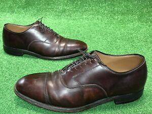 bc1a223790e Johnston Murphy Optima Cordovan Oxford Cap Toe Lace Up Dress Shoes ...