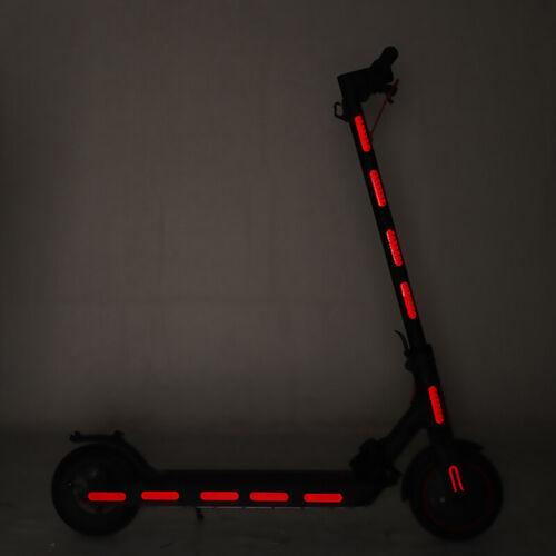 Per XIAOMI M365//pro scooter elettrico accessori decorativi Adesivo Riflettente