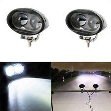 2pcs 20W 12V 24V LED DRL Round Car Fog Lamp Driving Daytime Running Light Bright