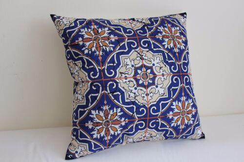 """Art Blue and white porcelain Home Cotton CUSHION COVER Throw PILLOW CASE 18/"""""""