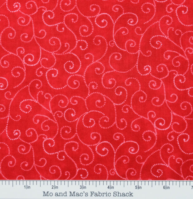 Moda Marble SWIRLS~9908 23 CHRISTMAS RED~Perfect Blender~Half Yard