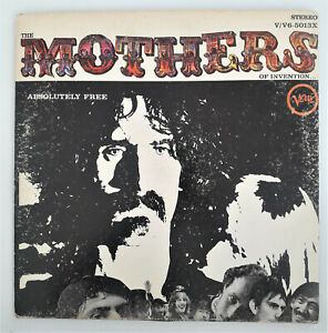 FRANK ZAPPA Mothers of Invention LP Absolutely Free 1st Pressing V/V6-5013X