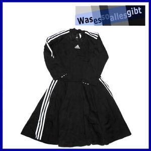 SCHNAPPCHEN-adidas-3-Stripes-Dress-Women-schwarz-weiss-Gr-S-T-1152