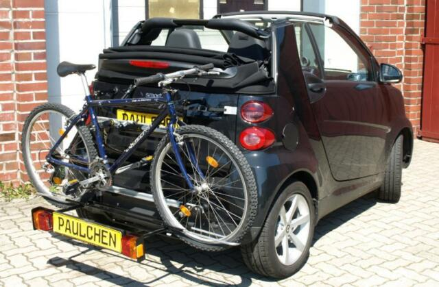 Paulchen Roof Racks Rear Carrier Bicycle For Smart Fortwo 451 Cabriolet