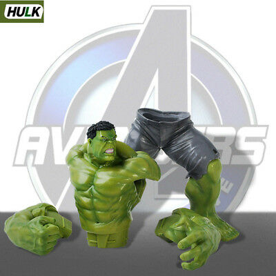 """10/"""" MARVEL THE AVENGERS Toy Hulk Hot Action Statue Figure Crazy Toys Kids Gift"""
