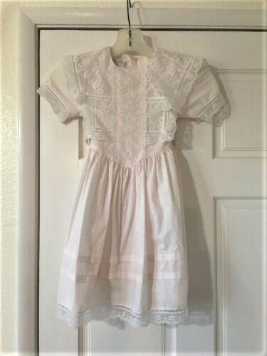 Vintage Girls Toddler Size 5 Gunne Sax Dress Prai… - image 1