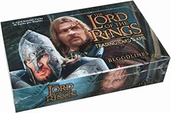 Lotter Lord of the Rings TCG Bloodines Booster Scatola Fabbrica Sigillato