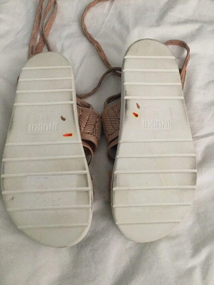 6d6778c48 ... NEW NEW NEW 228 Anthropologie Inuikii Embossed Sport Sandals Dimensione  38 rosa Slides 79c65f ...