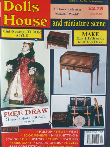 ISSUE 009 DOLLS HOUSE AND MINIATURE SCENE MAGAZINE